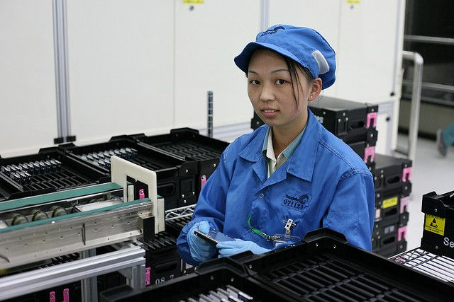 Zakupy na Alibaba, fabryka