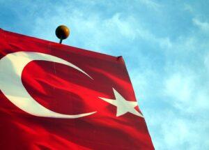 Import z Turcji - flaga