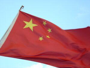 Cło z Chin - flaga