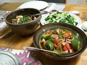 Zdrowie w Chinach, jedzenie