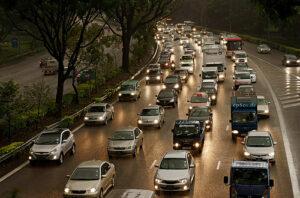 Import samochodów - autostrada